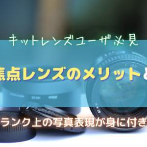 【単焦点レンズのメリット】キットレンズユーザが単焦点レンズを使うべき理由