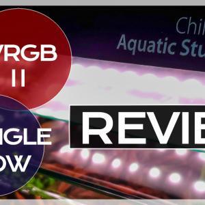 Chihiros WRGBⅡ30をアクロ TRIANGLE GROW 300と比較・レビューします。