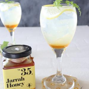 Newレシピ!レモンゼリーのハニースカッシュ