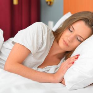 夜は熟睡でき、朝はすっきり目覚めました!