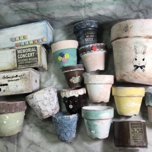 DIYリメ鉢リメ缶木製プランター初心者さん作ってみよう!絵が描けなくても可愛くできちゃう!