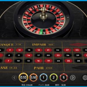 ベラジョンカジノ 60ドルを1000ドルまで増やそう 挑戦中4 ルーレットで大敗しました