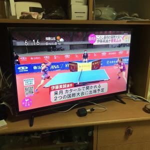 アイリスオーヤマのテレビを買いました!32WB10P