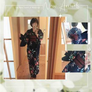 アクセサリー搬入の日のコーデ☆今年12回目の着物