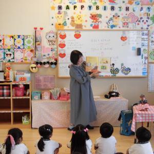 エンゼル幼稚園~読み聞かせ訪問(年長さん)