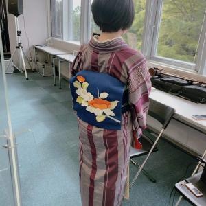 朗読会の日のコーデ☆今年18回目の着物