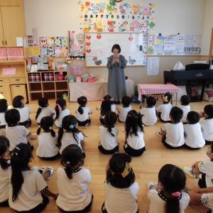 エンゼル幼稚園さん 読み聞かせ訪問
