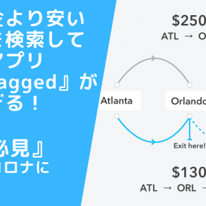 『旅人必見』正規料金より安い直行便を検索してくれるアプリ『Skiplagged』が優秀すぎる!アフターコロナに向けて。