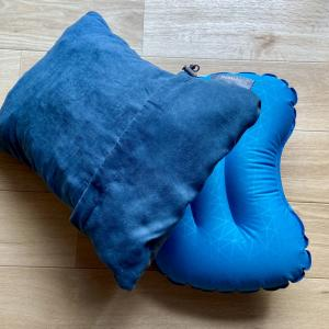 サーマレストのキャンプ枕は買って正解|寝心地が最高です!