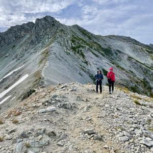 【北アルプス】立山1泊2日テント泊山行|②立山三峰縦走コース