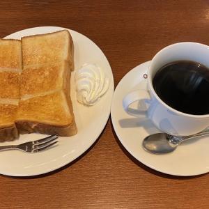 JR吹田駅近く、喫茶 三番館 吹田店で7時からモーニング
