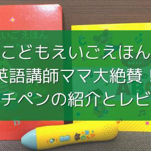 【こどもえいごえほん】英語講師ママ絶賛!効果大のタッチペンを画像付きでご紹介