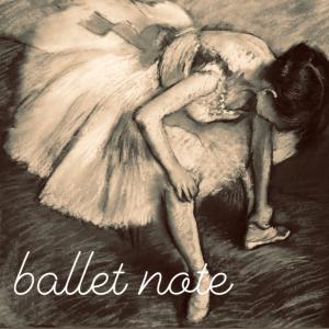 【今週のバレエノート】ピルエットの難しさ