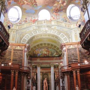 ハプスブルク家の書庫!ウィーン国立図書館の思い出