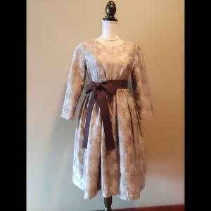 【誌上・パターン塾 Vol.4 ワンピース編】万能過ぎるソーイングブックで作ったドレス