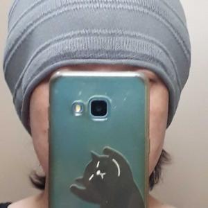 脱毛期のケア帽子について