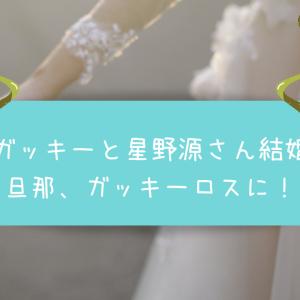 ガッキーと星野源さん結婚で旦那がガッキーロスに!