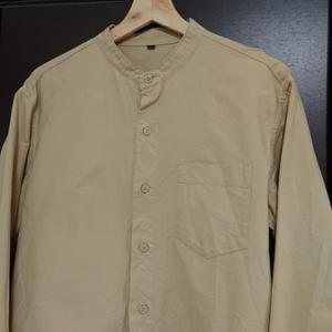 無印良品の新定番!?洗いざらしオックススタンドカラーシャツ