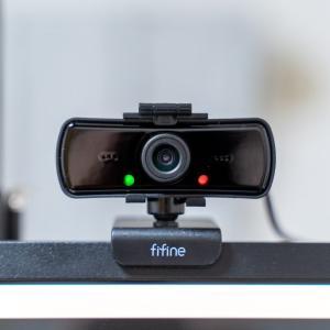 【webカメラ】マイク付きで高画質!ドライバ不要でUSB接続ができる「FIFINE K420」