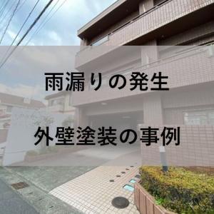 【不動産投資】アパート2号に雨漏り発生 外壁塗装の事例