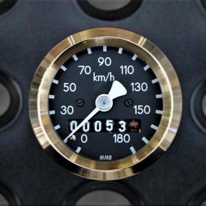 真鍮リングを加えてカッコいいスピードメーターを作る!