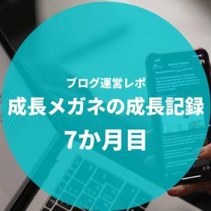 【PVと収益を公開します】ブログ運営7か月目のレポート