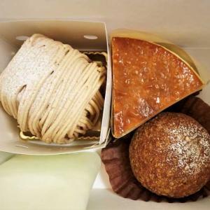 ジヴェルニーのシュークリーム、チーズケーキ、モンブラン