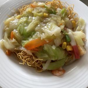 夏休みの昼ごはんは冷凍皿うどんがオススメ!鍋一つで簡単!