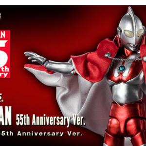 ウルトラマン55周年を記念した「ウルトラマン55th Anniversary Ver.」がS.H.Figuartsに登場。