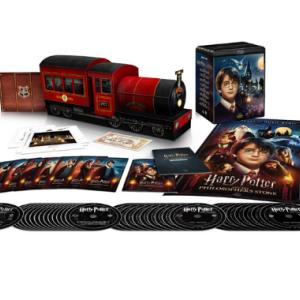 【1000 セット限定生産/シリアル番号入り 】ハリー・ポッター 8 Film ホグワーツ・エクスプレス コレクターズ BOX 4K ULTRA HD& ブルーレイセット(33枚組)【4K ULTRA HD】