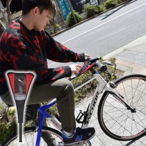 衝撃を吸収してスマホを守れる!「自転車用衝撃吸収スマホホルダーバンド」とは?