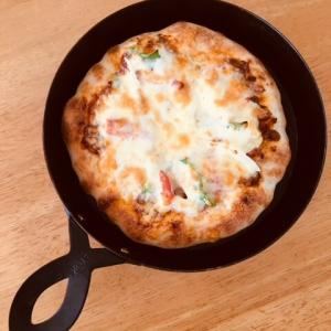 魚焼きグリルで【ピザ】を焼く!石窯風ピザ7分でこんがり