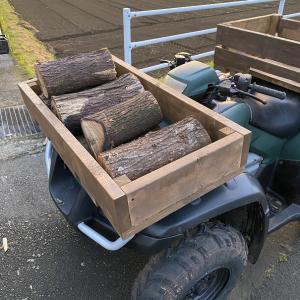 今度こそ!薪運搬車の改良