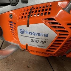 新しい相棒ハスクバーナ560XP 2020年モデル