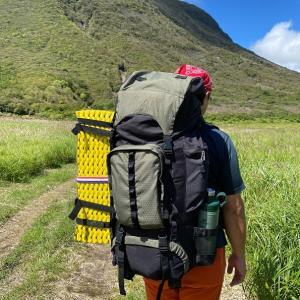 結婚記念日のお祝い登山 九重連山テント泊