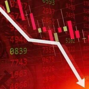 バブル相場 終焉の始まり!ドル 一強!ダウ下落の流れに!BTCは黄信号!
