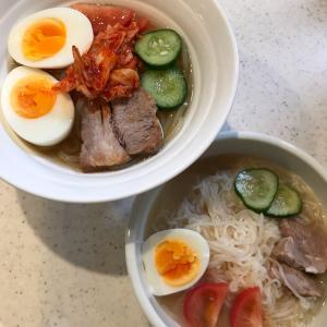 お豆腐冷麺