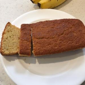 グルテンフリー バナナパウンドケーキ