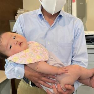 今日の一日★社長といっちーの赤ちゃん★