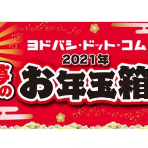 【2021年 家電量販店 福袋まとめ①】「2021年 ヨドバシカメラ夢のお年玉箱・福袋」が抽選予約開始!