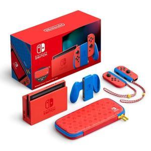 マリオ仕様の任天堂スイッチ本体!【予約開始!!】「Nintendo Switch マリオレッド×ブルー セット(HAD-S-RAAAF)」