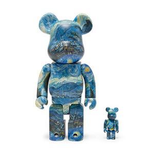 MoMAデザイン×ベアブリック【事前抽選締切注意!!】『MoMA Starry Night Van Gogh BE@RBRICK』
