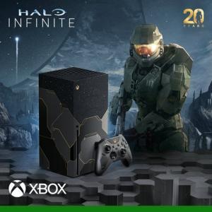 "Xbox Series X初の限定モデル""Halo""20周年記念デザイン本体同梱版【予約開始!】「Xbox Series X Halo Infinite リミテッド エディション」"