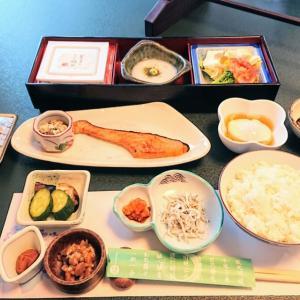 旅館の朝ご飯♥️『薬師の湯』花山温泉@和歌山県和歌山市