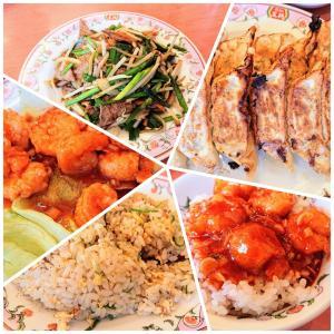 エビチリ丼ウマウマ❤️餃子の王将 鈴蘭台店@神戸市北区