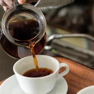一杯の至福のコーヒー
