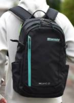 抗菌ポケットあり!Bianchiの27L防水リュックは衛生面にも配慮。