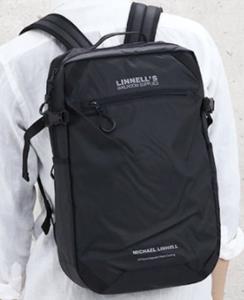 スマートでタフ!マイケルリンネルの 24L防水リュック< MICHAEL LINNELL MLAC-07 >