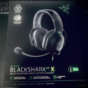 【ヘッドセット】Razerのゲーミングヘッドセット『BlackShark V2 X』の使用した感想!