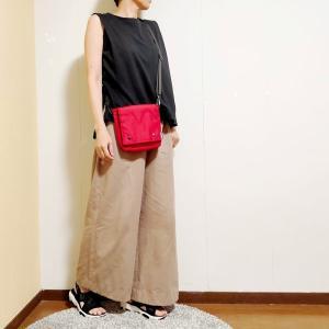 夏の普段着、パンツの丈と幅の比較